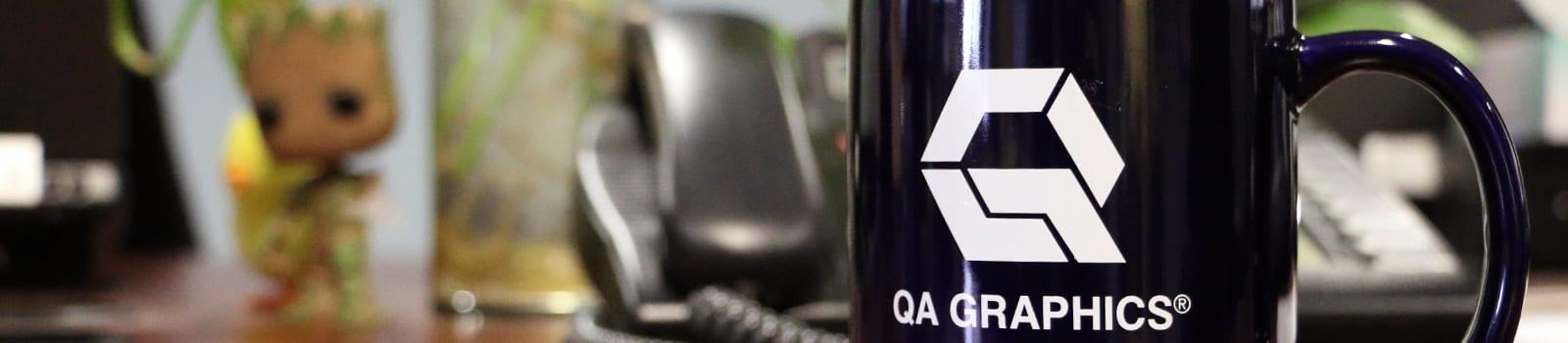 QA Graphics contact us banner