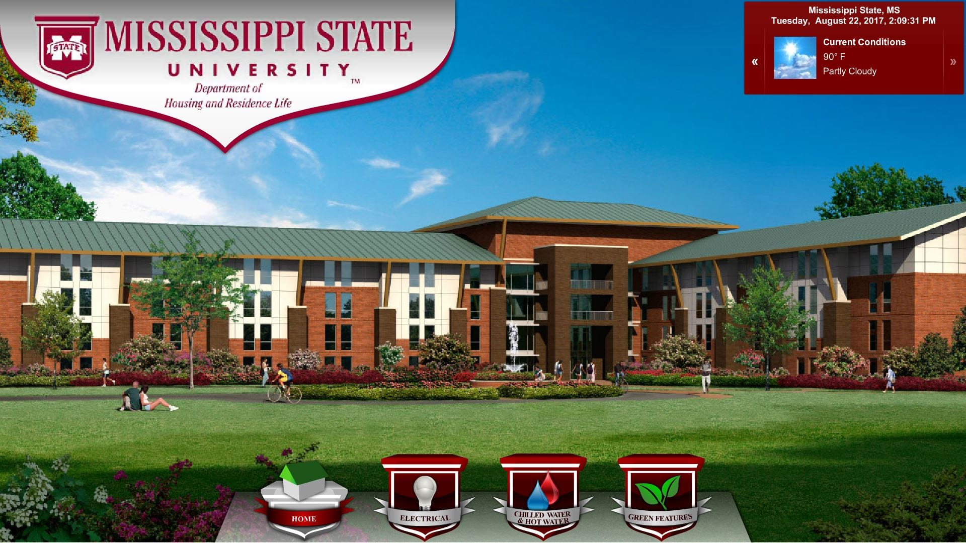 Mississippi State University Dashboard example