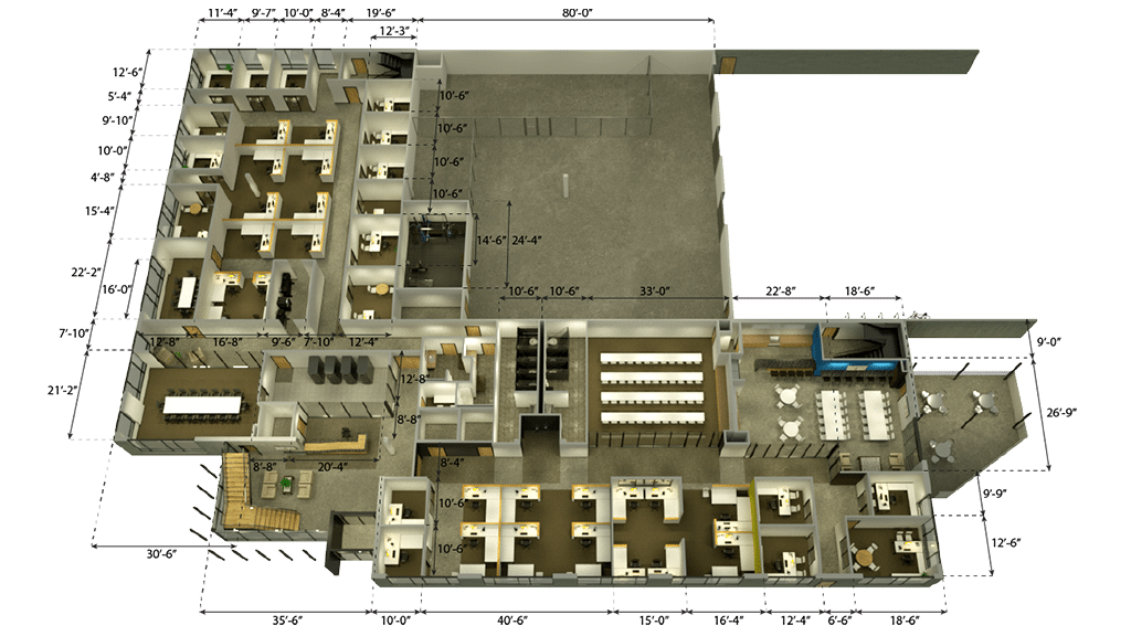 Custom 3D Floor Plan