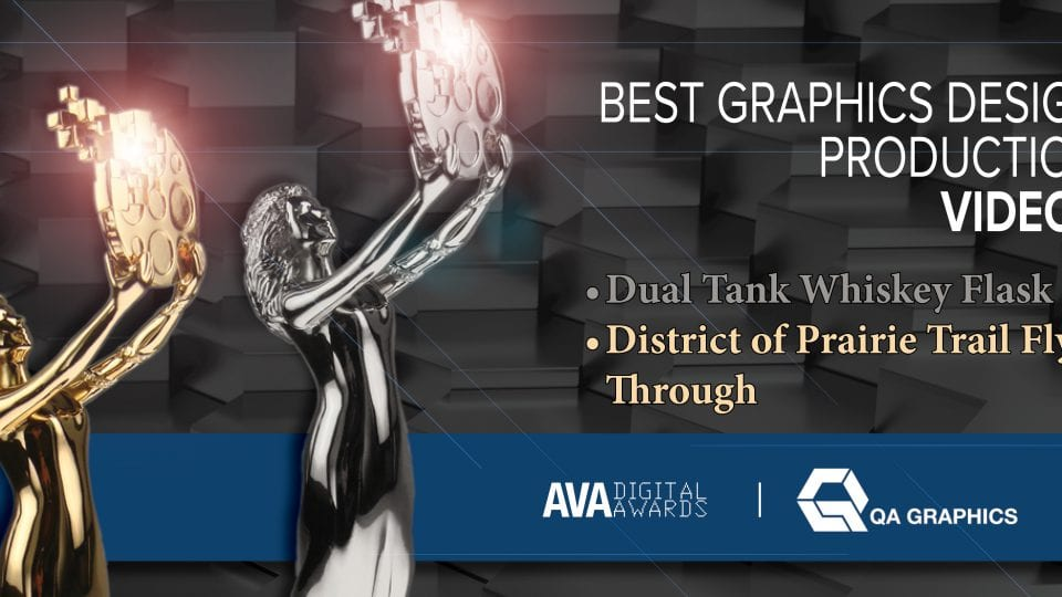 QA Graphics Wins Two AVA Digital Awards