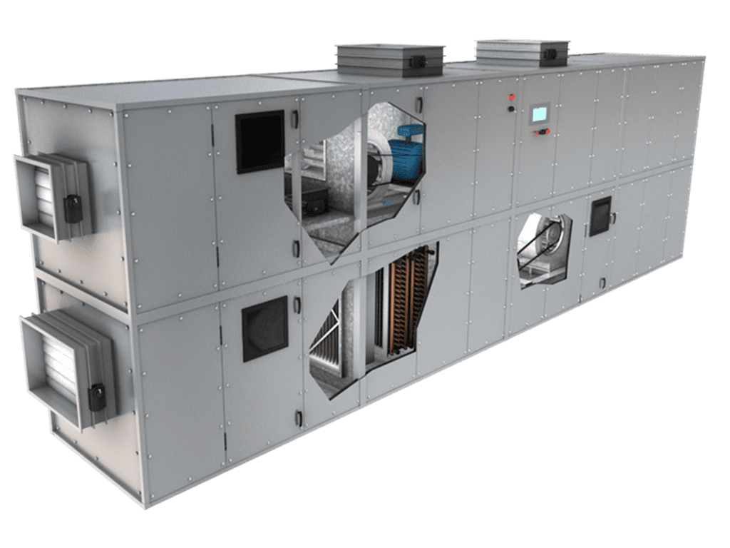 HVAC-Stock cutaway BAS Equipment Library