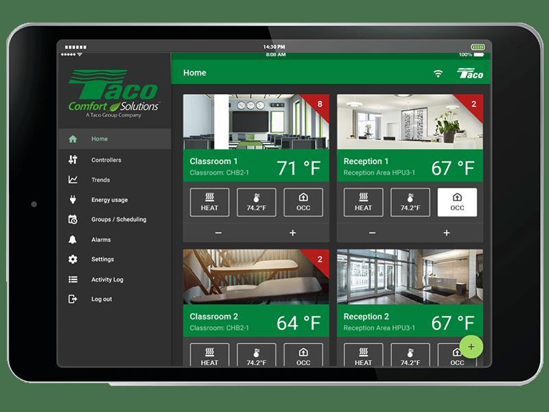 ux design, ux application, building controls application