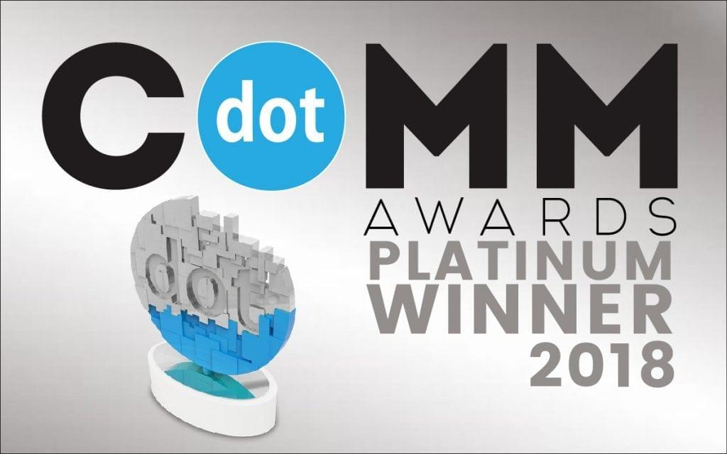 dotCOMM Award, website design, web development