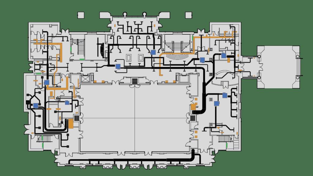 2D Floor Plan Graphics - QA Graphics | Des Moines, IA