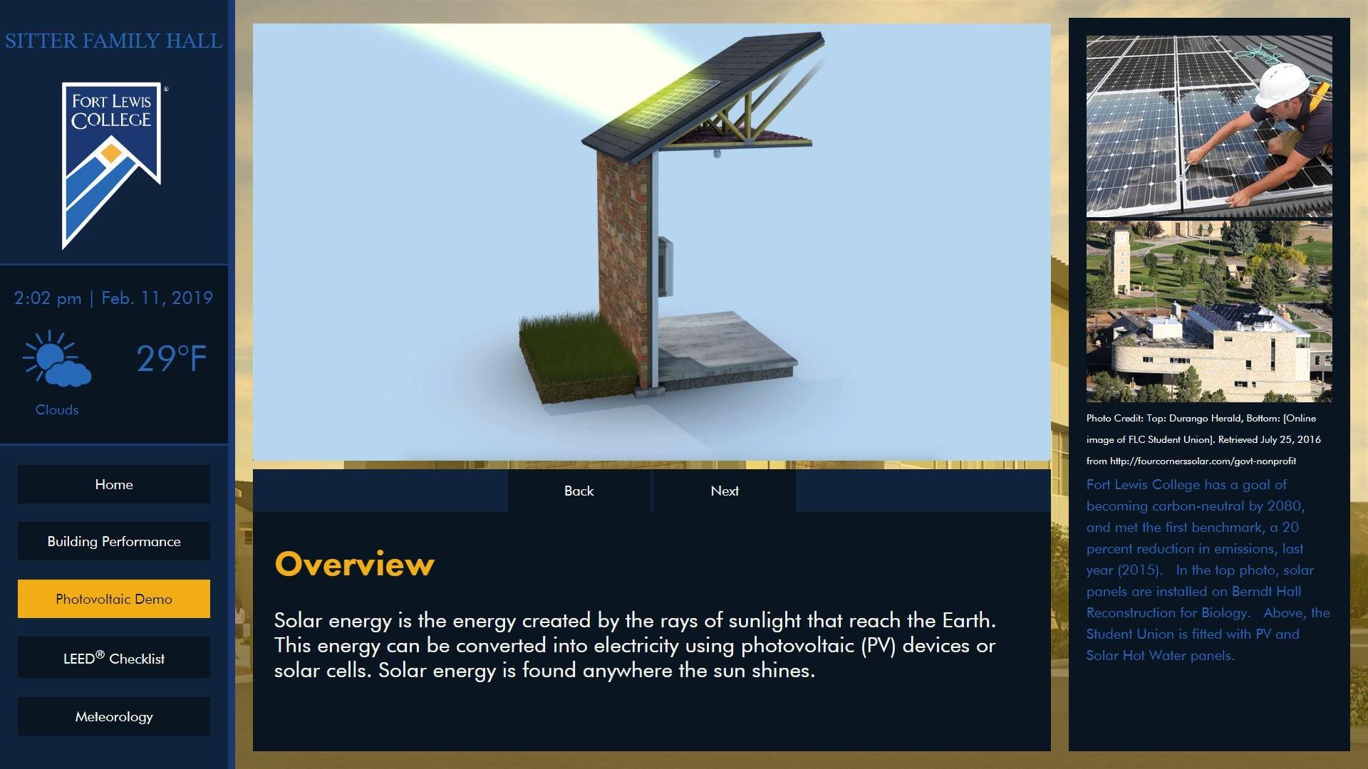 energy dashboard, qa graphics, eeed, ux design, demos