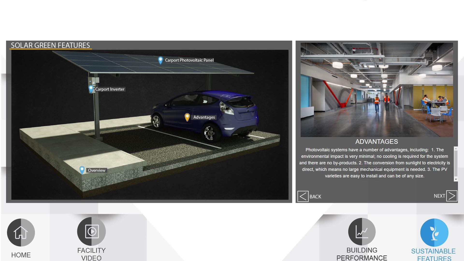 Energy Dashboard display demo
