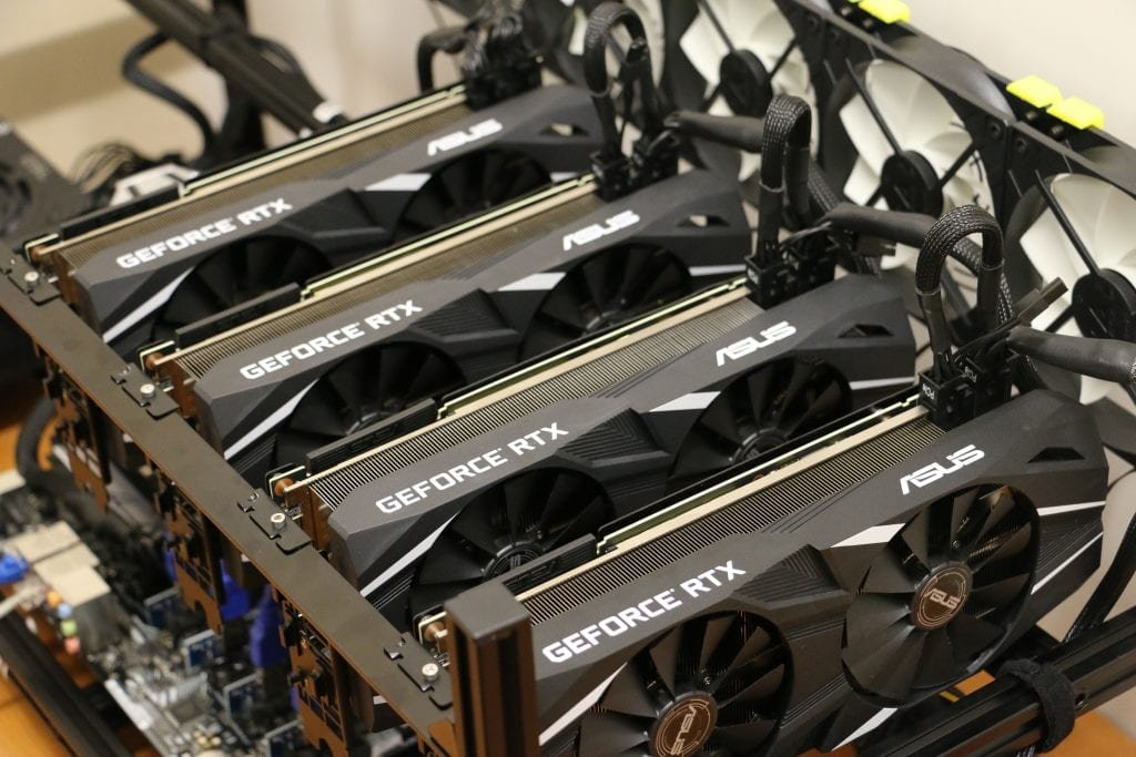 The new RTX 2080 graphics cards