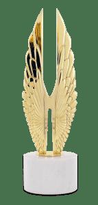 2019 Hermes Award GOLD statue