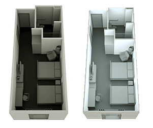 Lighting, 3D Floor Plan