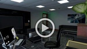 Office Lighting Video Image