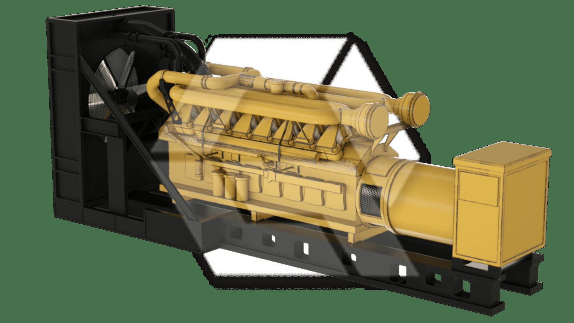 Generator CAT Foley 3512C
