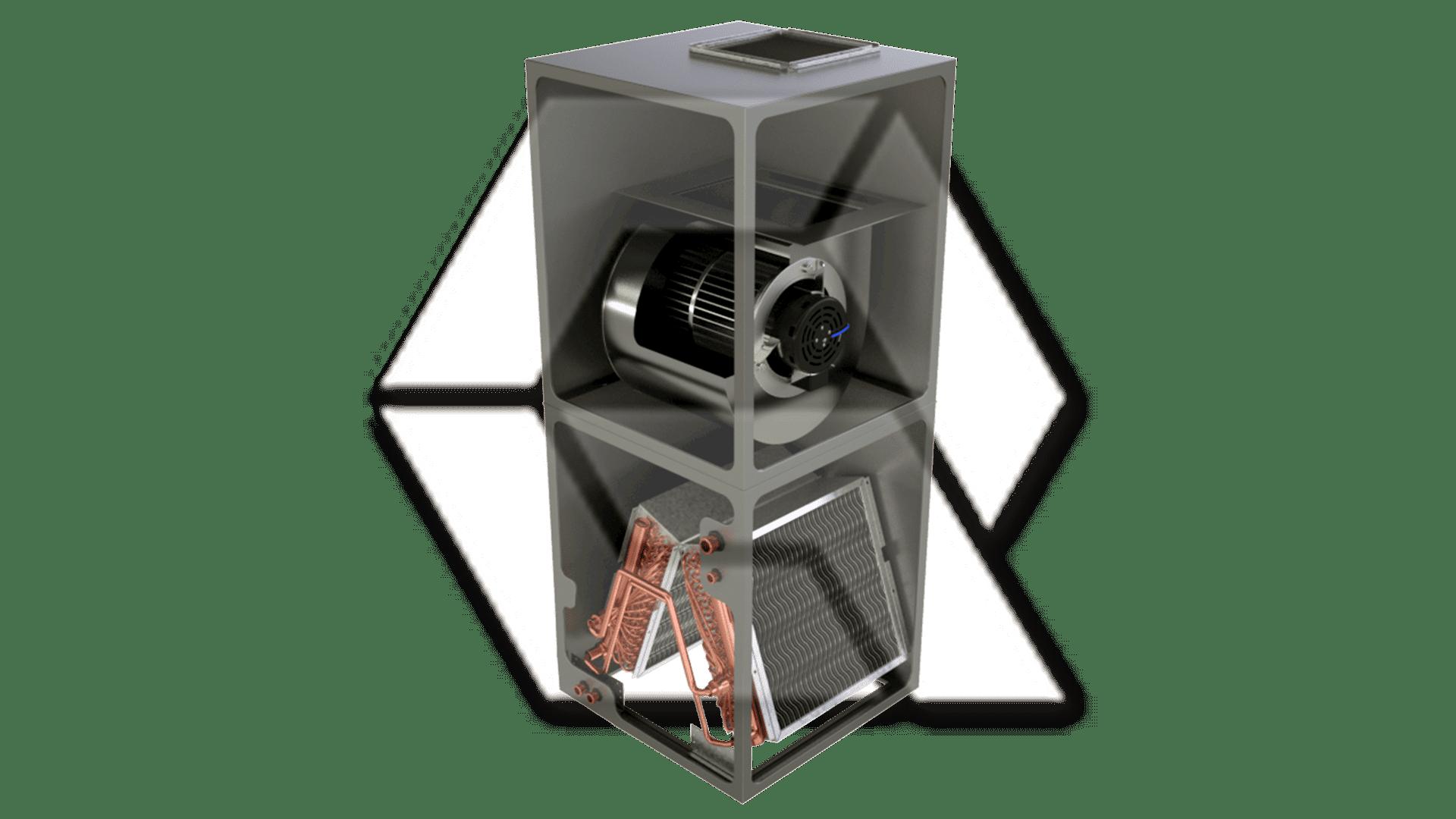 Amana-AVPTC Split System - Indoor Vertical