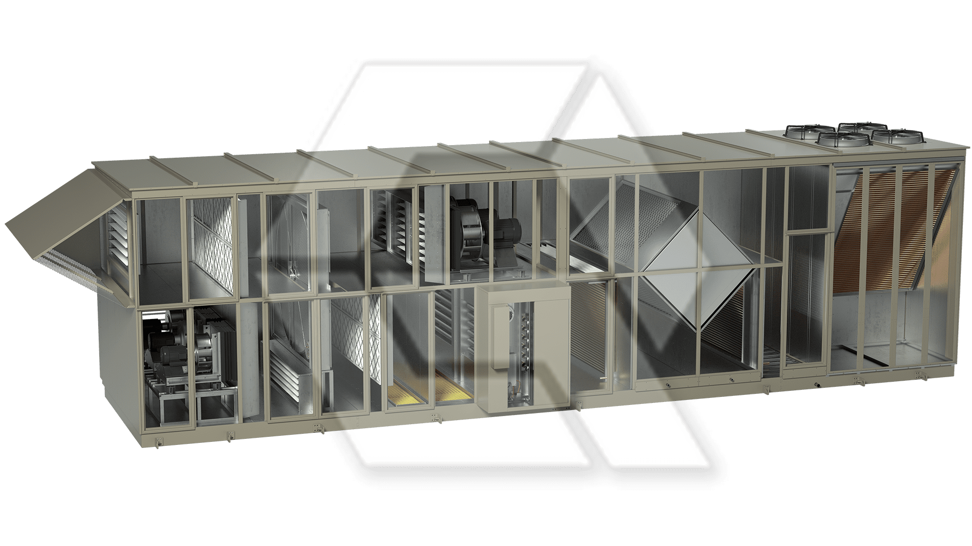 Innovent AHU 7595062-00140 - LASER II Open View