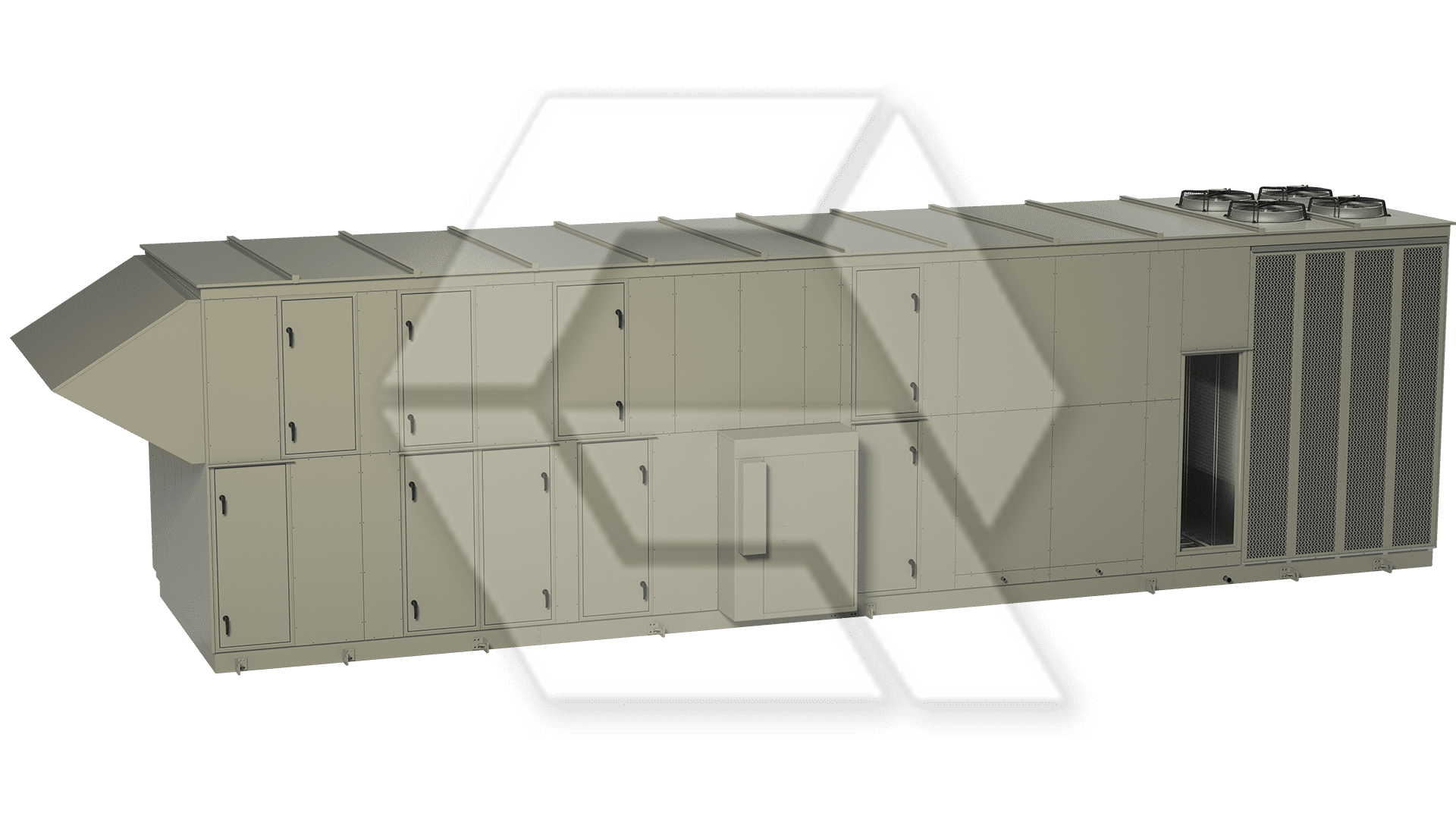 Innovent AHU 7595062- 00140 - LASER II Closed View