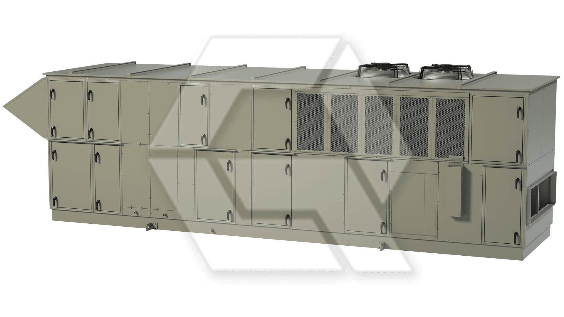 Innovent AHU 7879467-00020 - Pool Unit Closed View