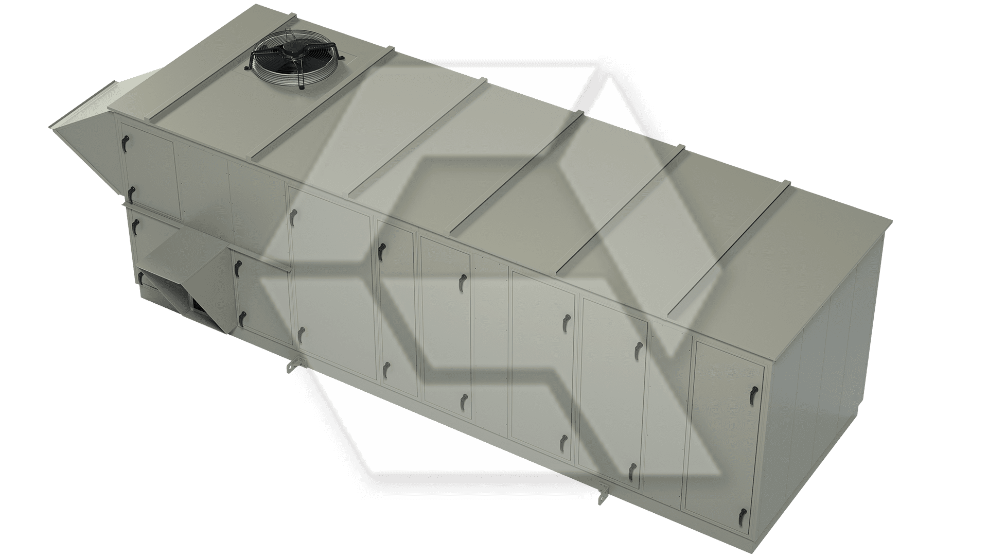 Innovent AHU 8078459-00020 - Dessicant Unit Closed View