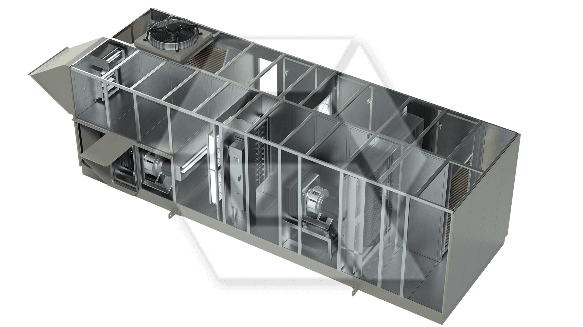 Innovent AHU 8078459-00020 - Dessicant Unit Open View