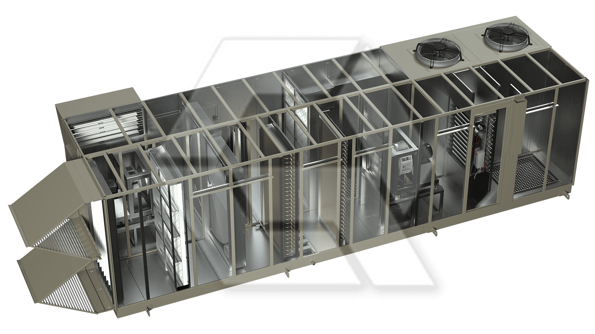 Innovent AHU 8081286 Open View