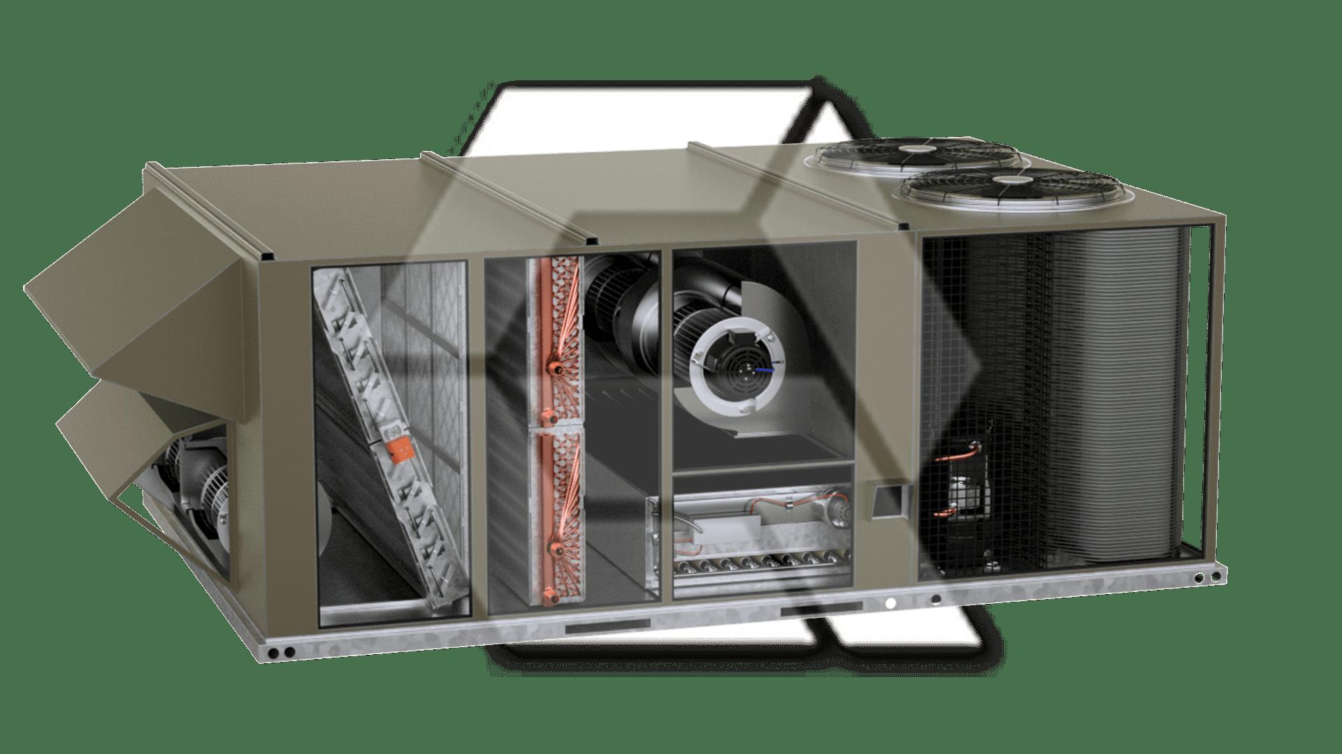 Johnson Controls R-410A (2 Fans)