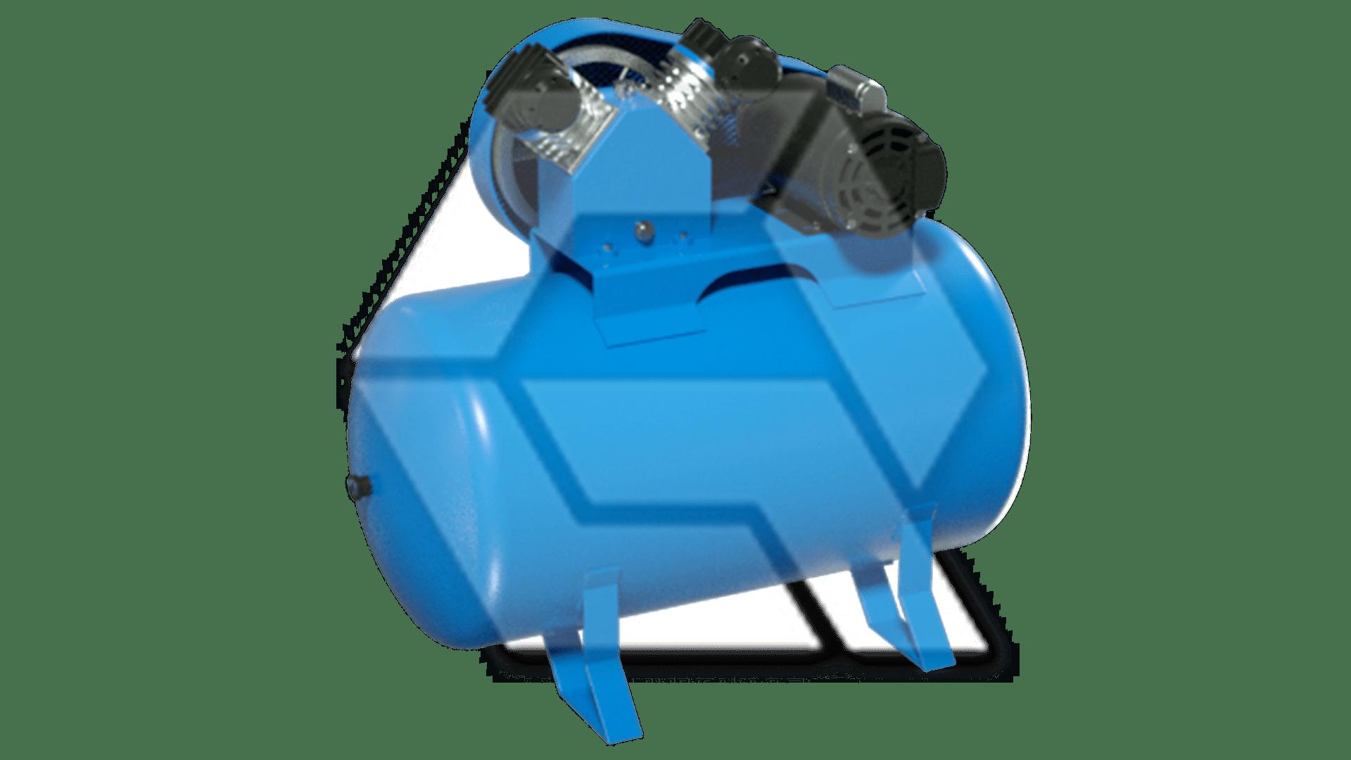 Air Compressor Blue