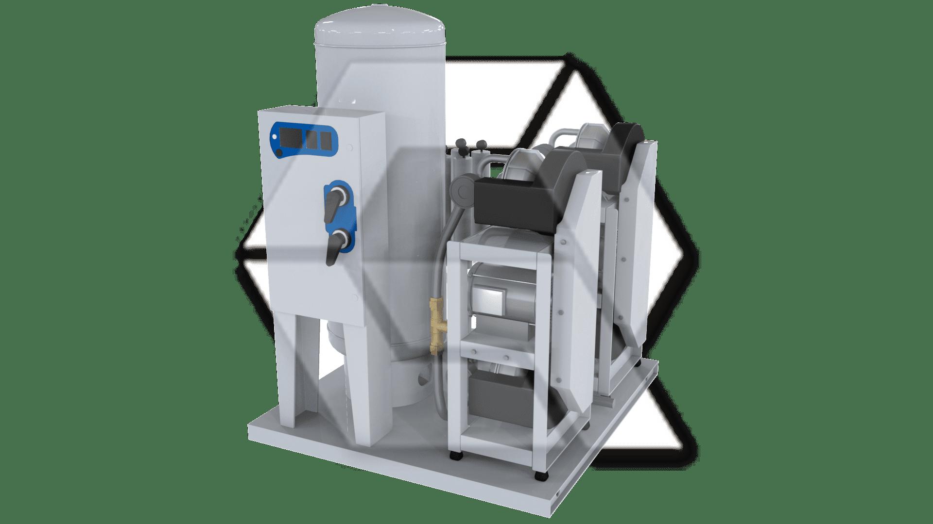 Beacon Medaes Compressor 10 HP Duplex