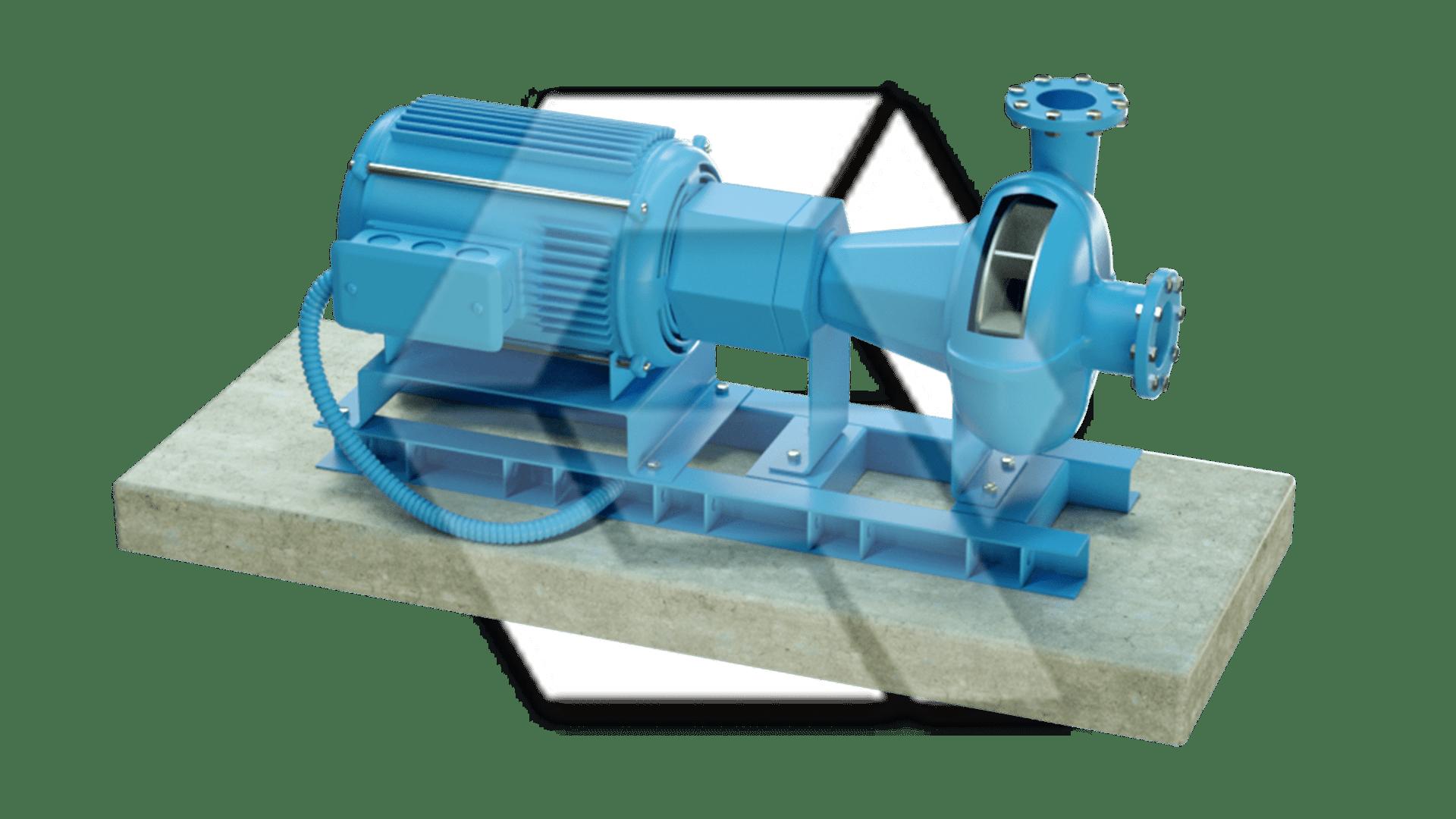 Centrifugal Pump Blue