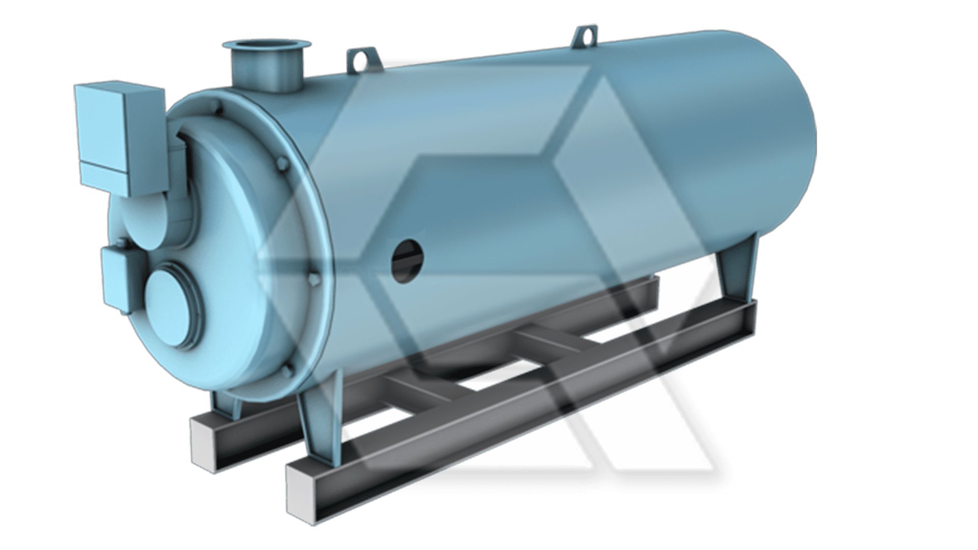 Cleaver Brooks Boiler Large Closed