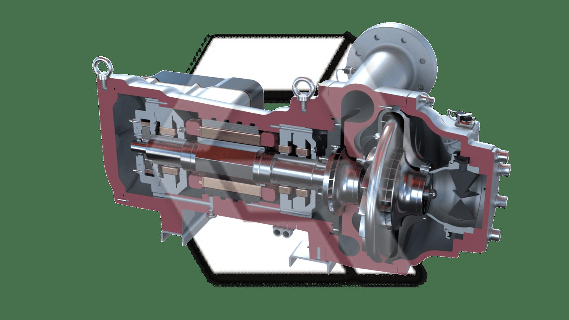 Danfoss VTT-1400 Compressor Open