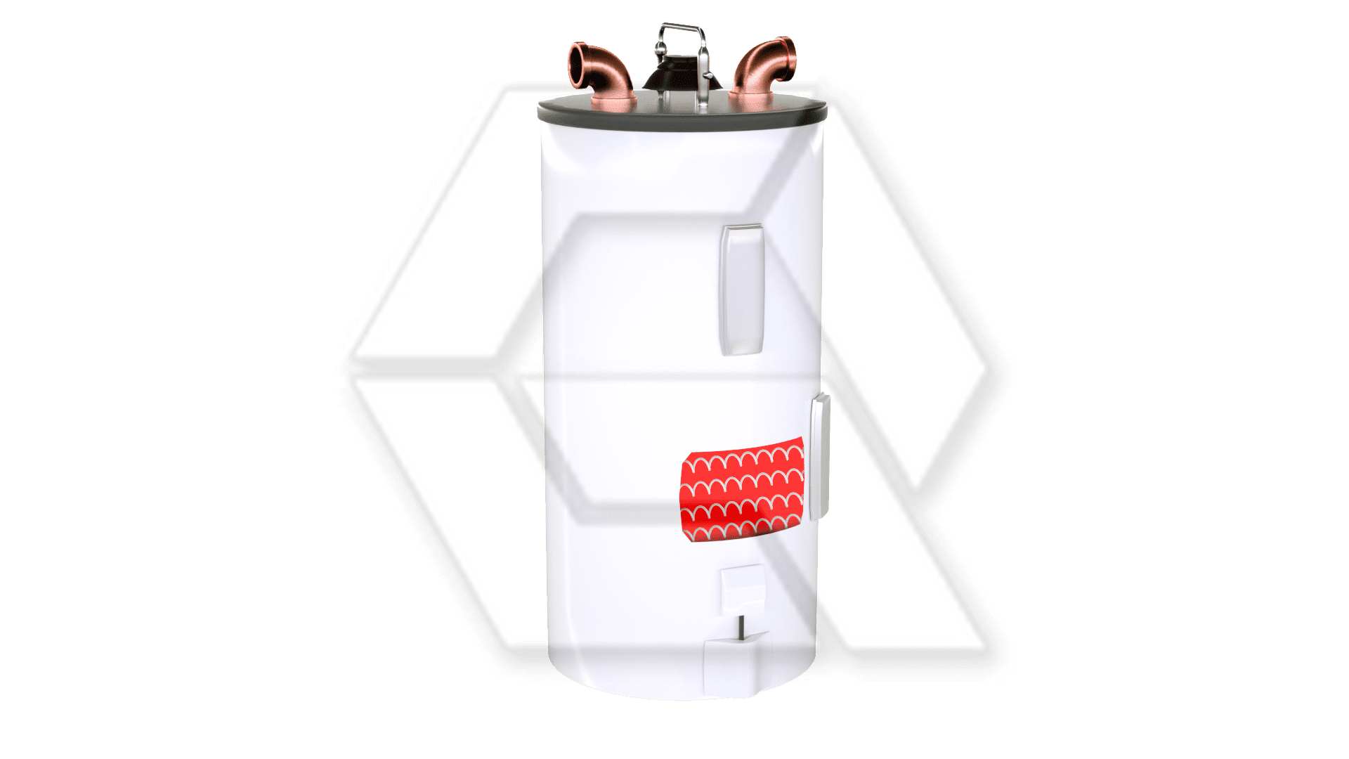 Hot Water Heater Open