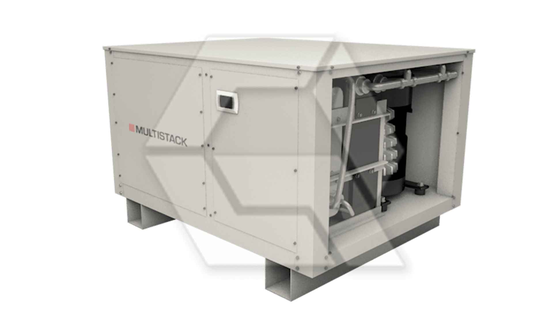 Multistack Boiler open