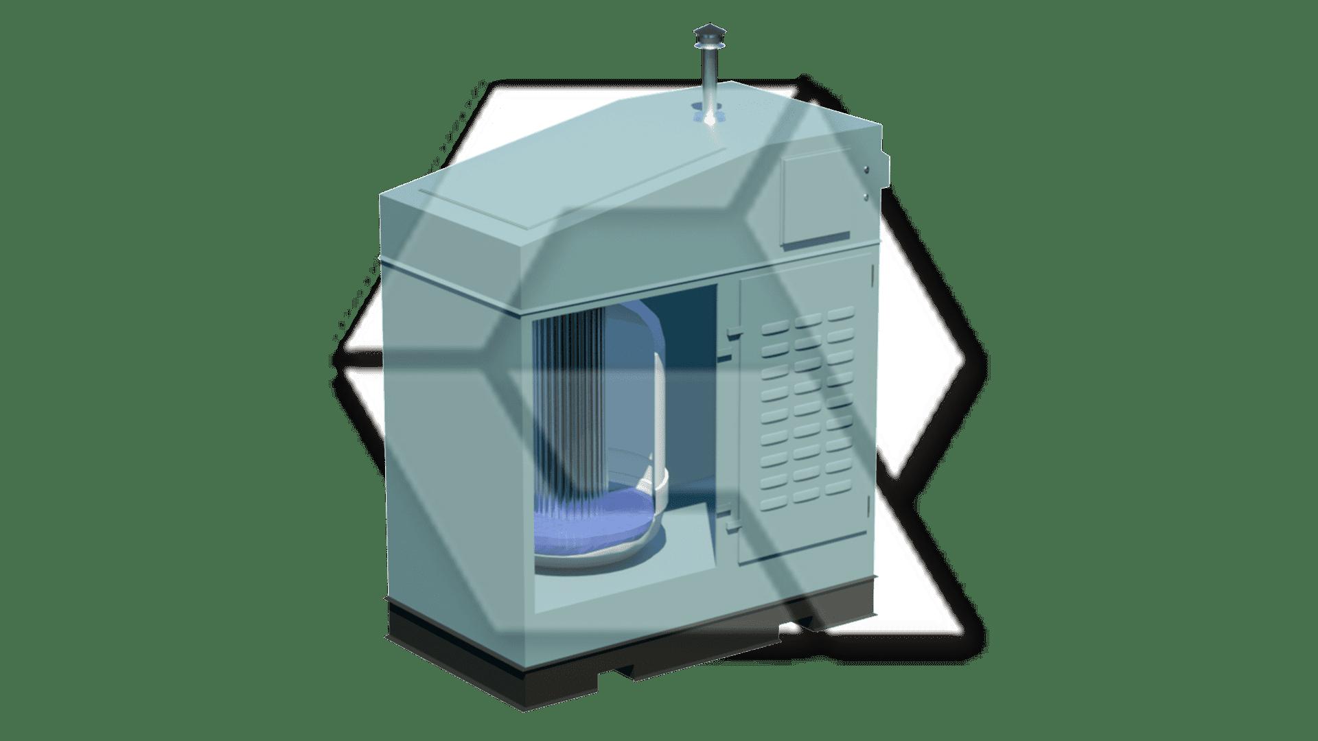 Nortec Steam Generator open