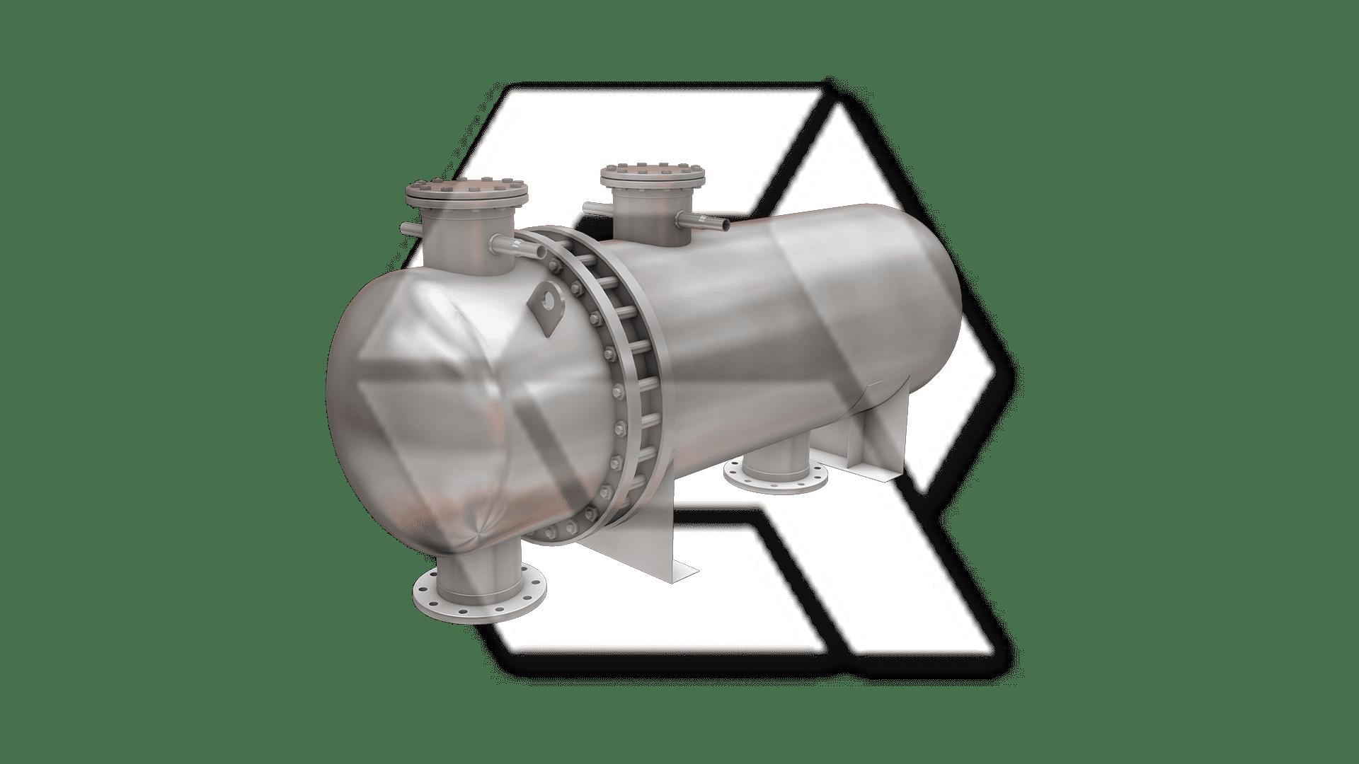 Tube Heat Exchanger Closed