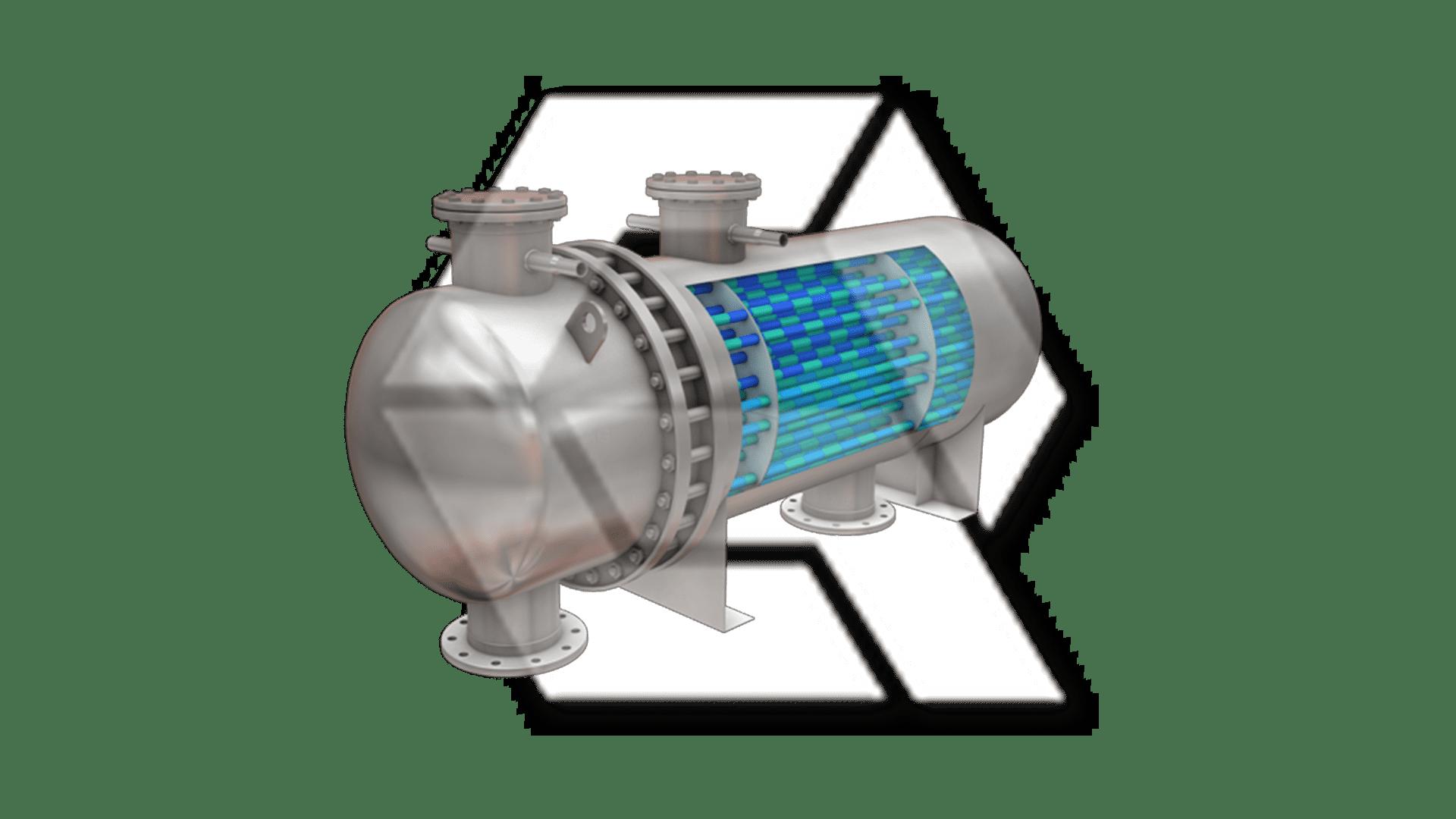Tube Heat Exchanger Open