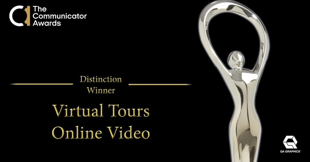 Communicator Award of Distinction post