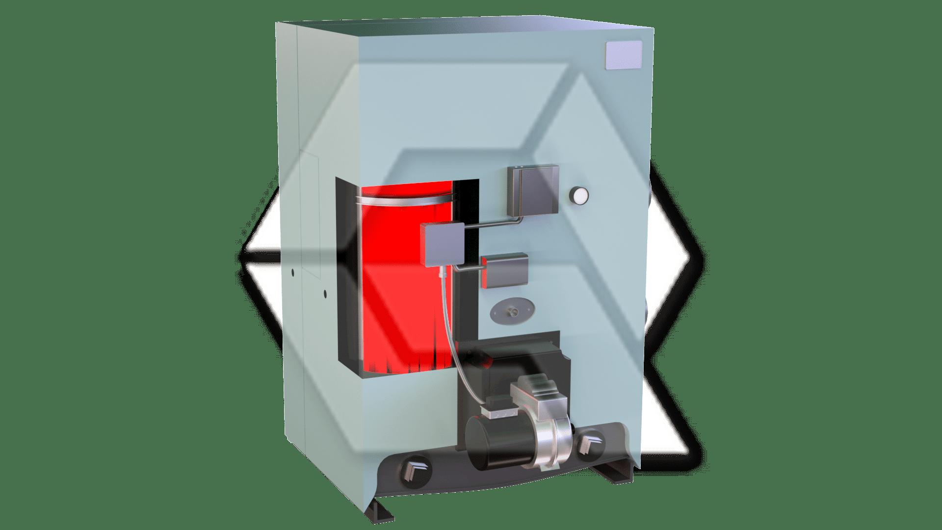 WeilMcClain Boiler Open