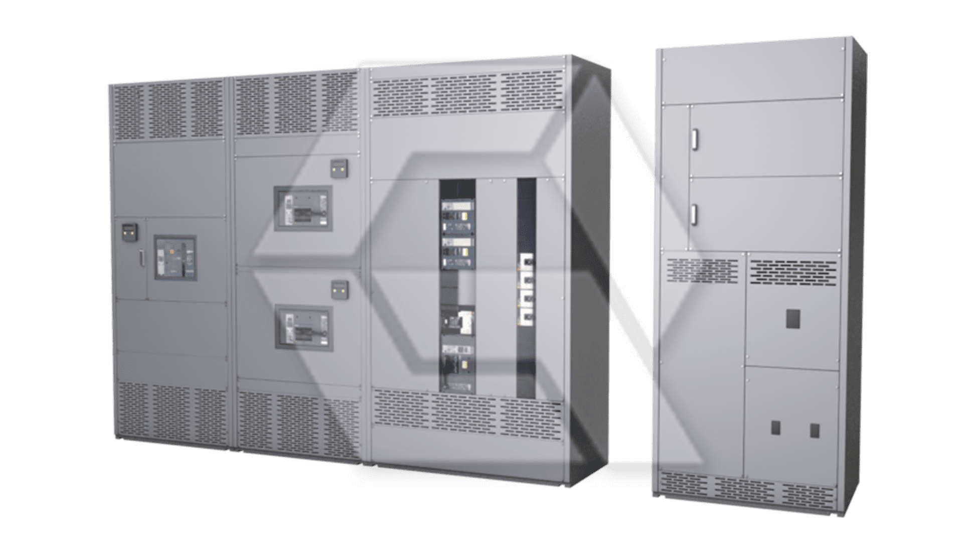 Square D Switchgear additional Cabinets