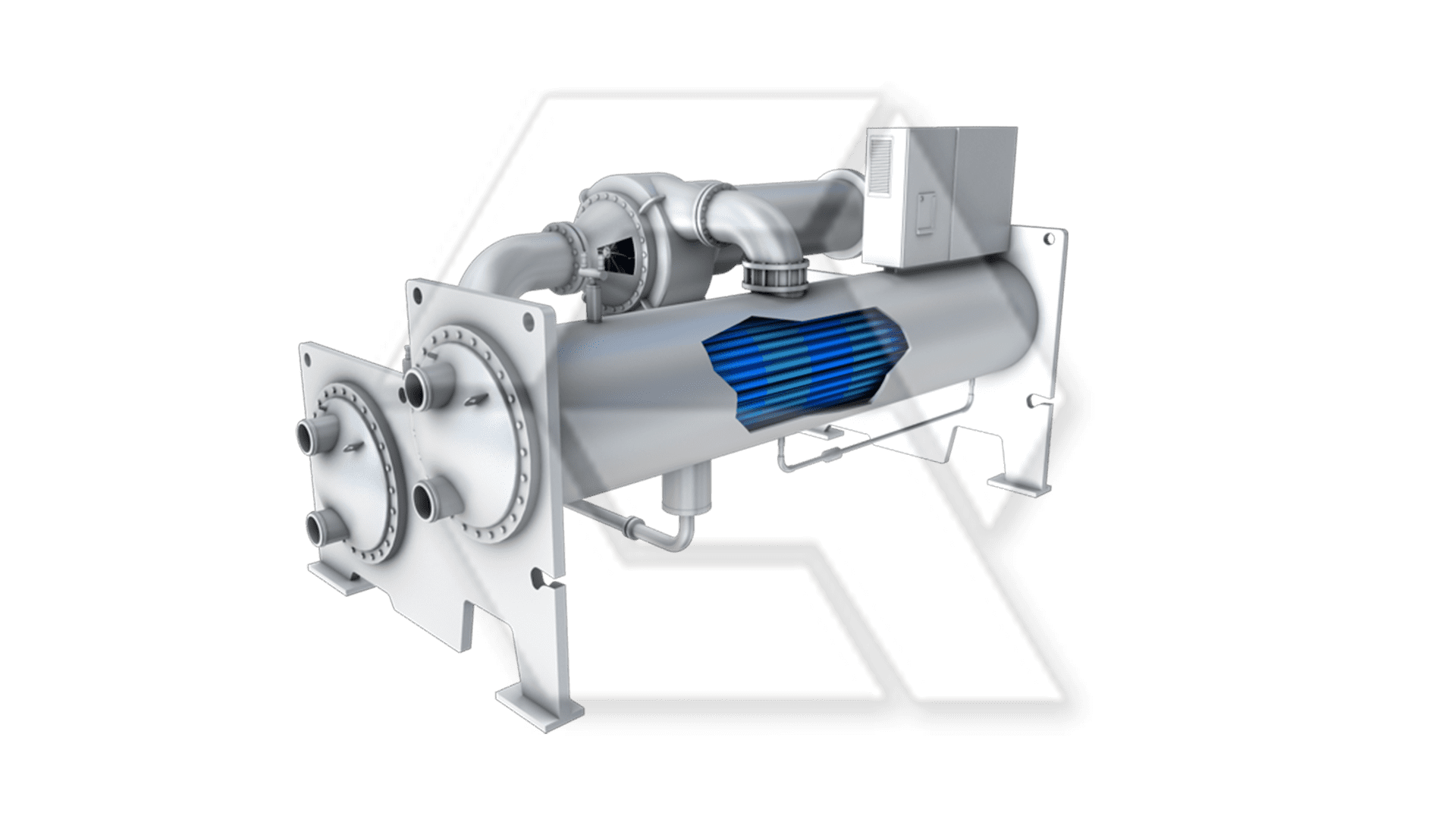 Carrier 19XR Rotar Hermatic Centrifugal Chiller Open