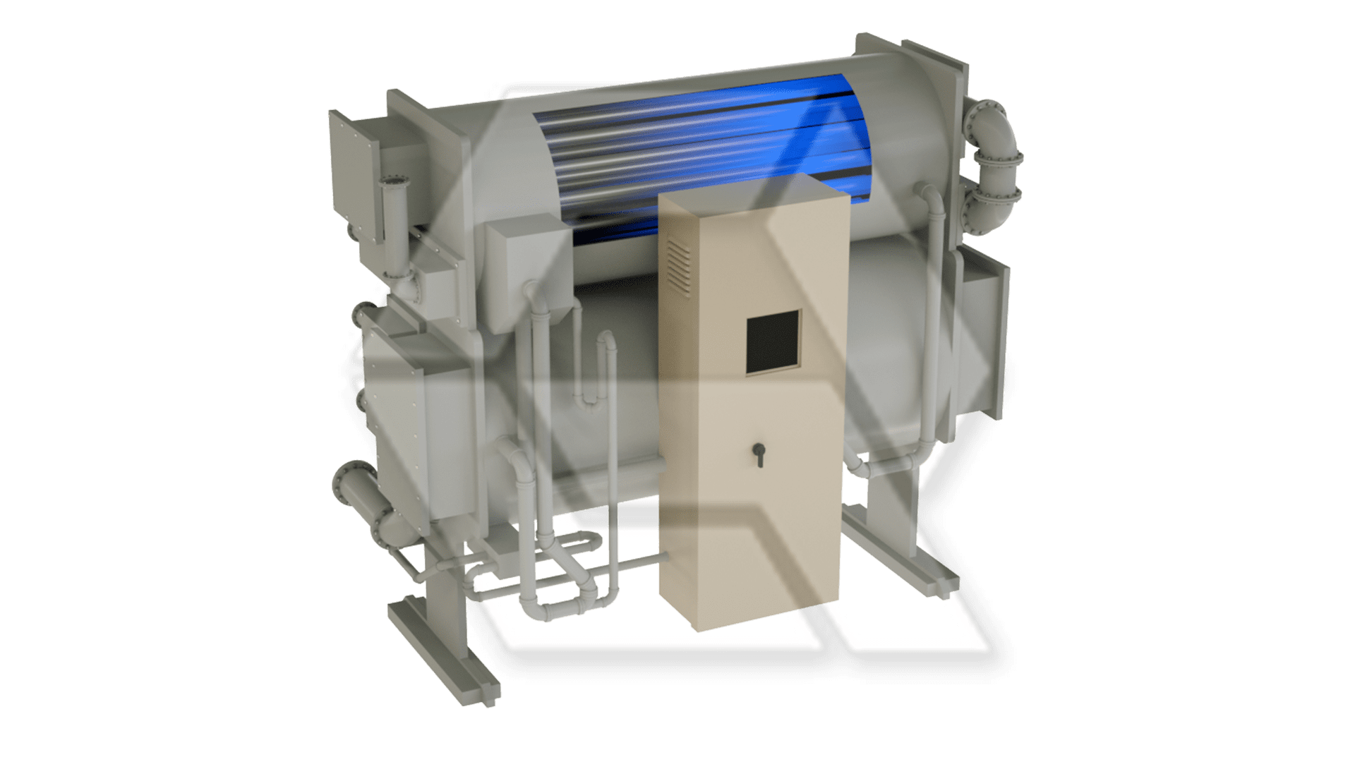 Carrier 16LJ Absorption Chiller Open