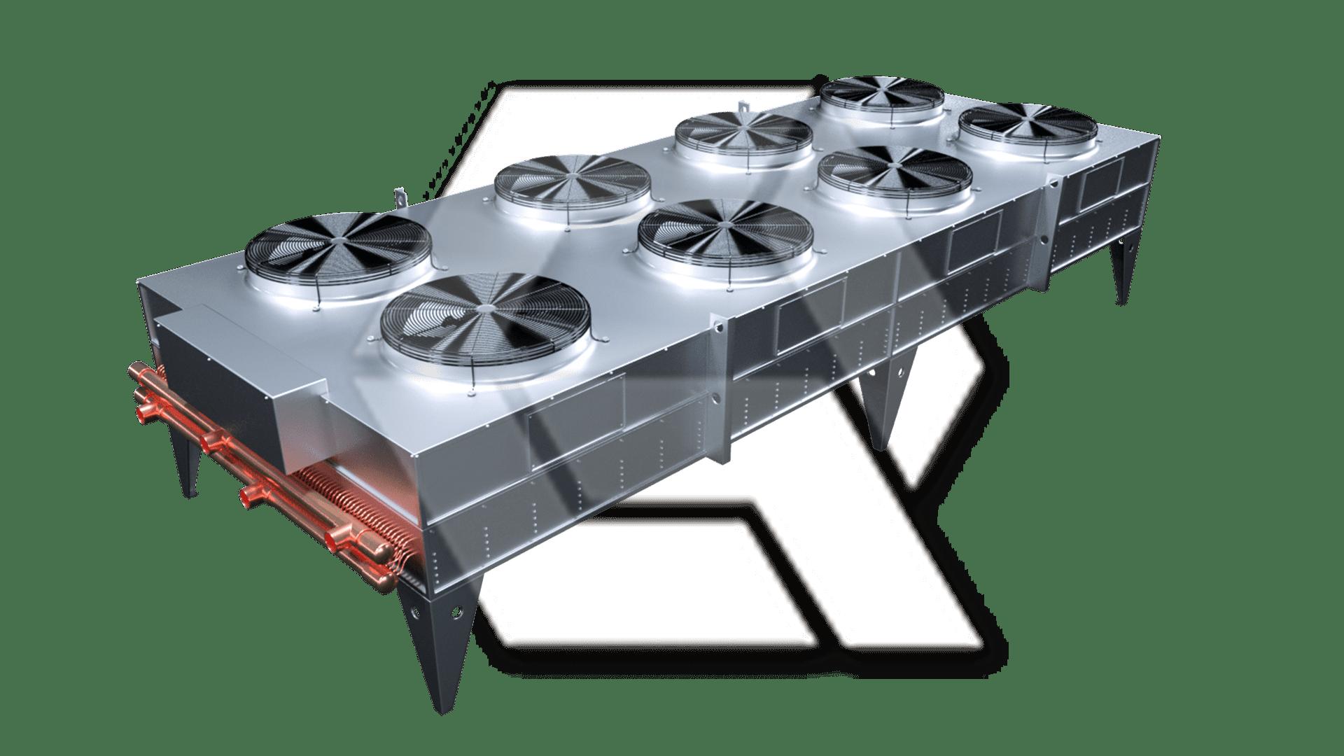 Fluid Cooler 2x4