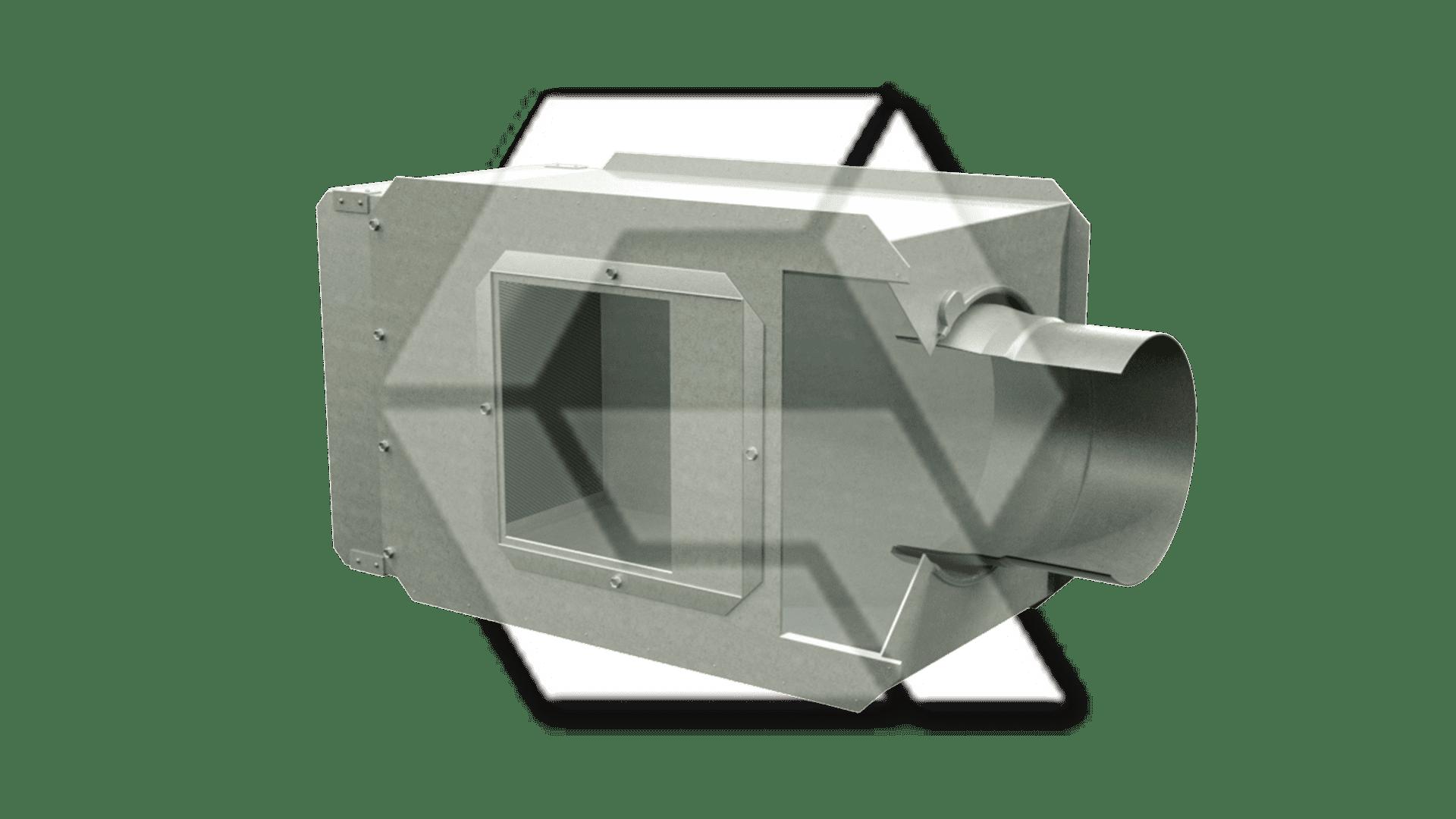 Trane VAV no pneumatic damper
