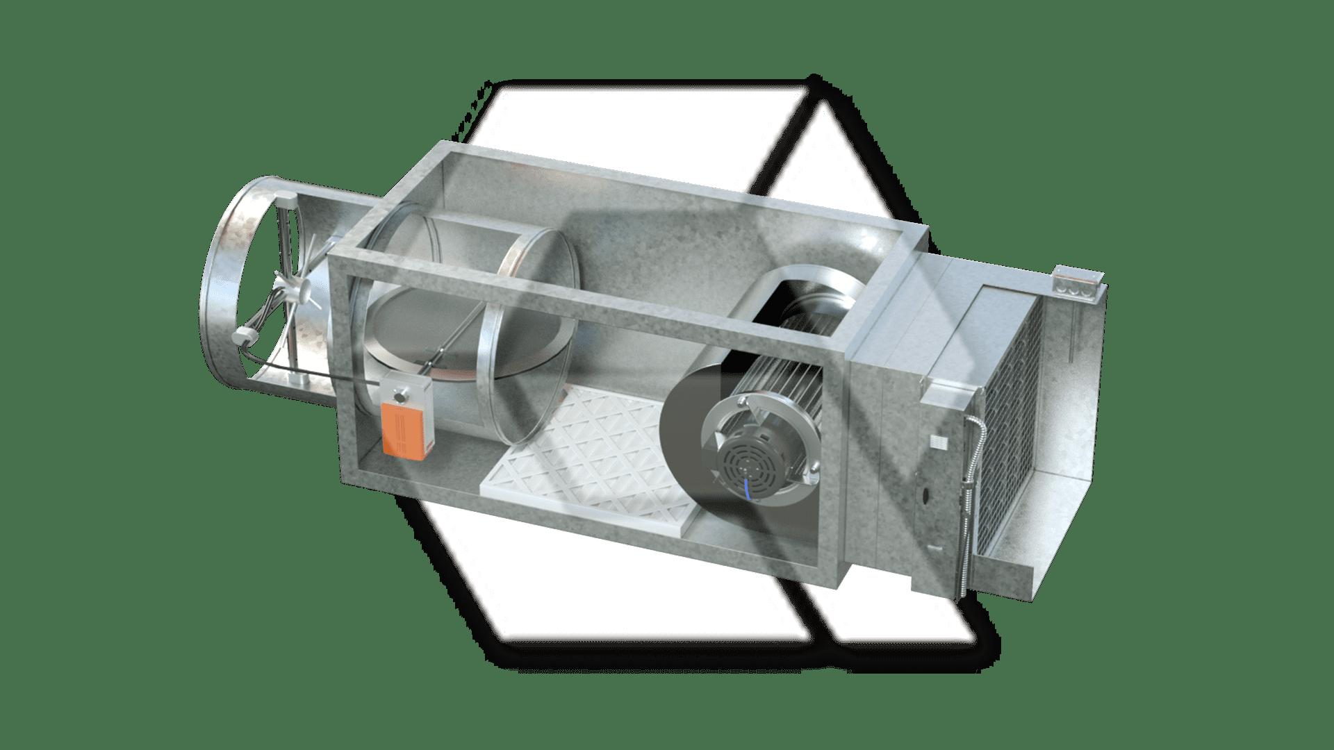 VAV Series Filter EH Temp