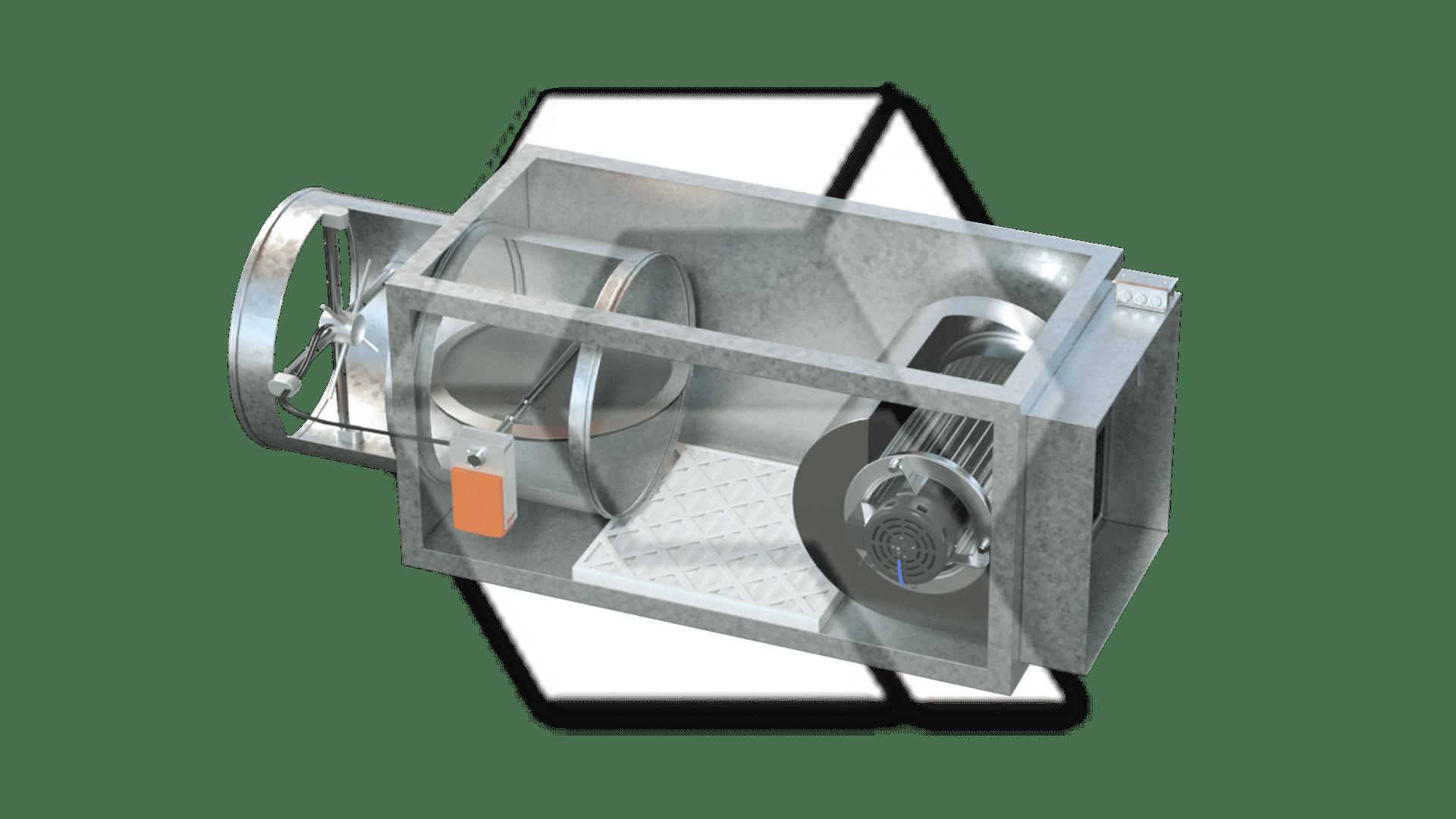 VAV Series Filter Temp