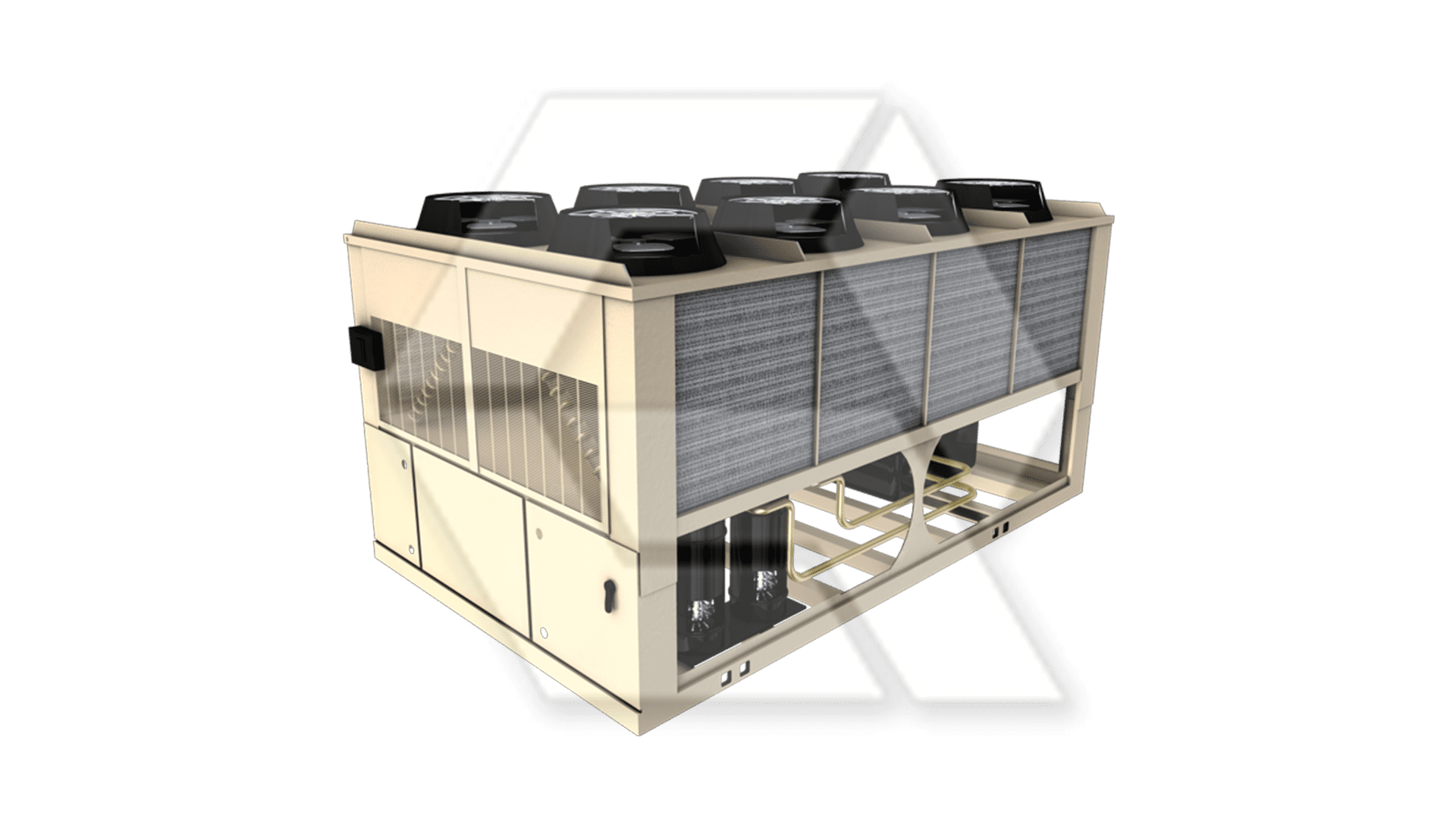Trane CGAM Air-Cooled Chiller Open