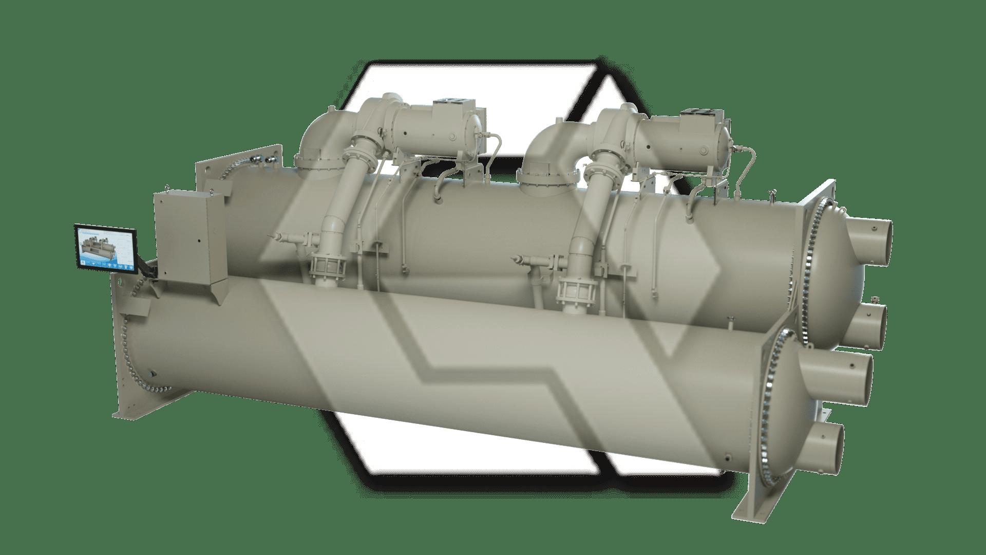 Chiller Dual Compressor Closed