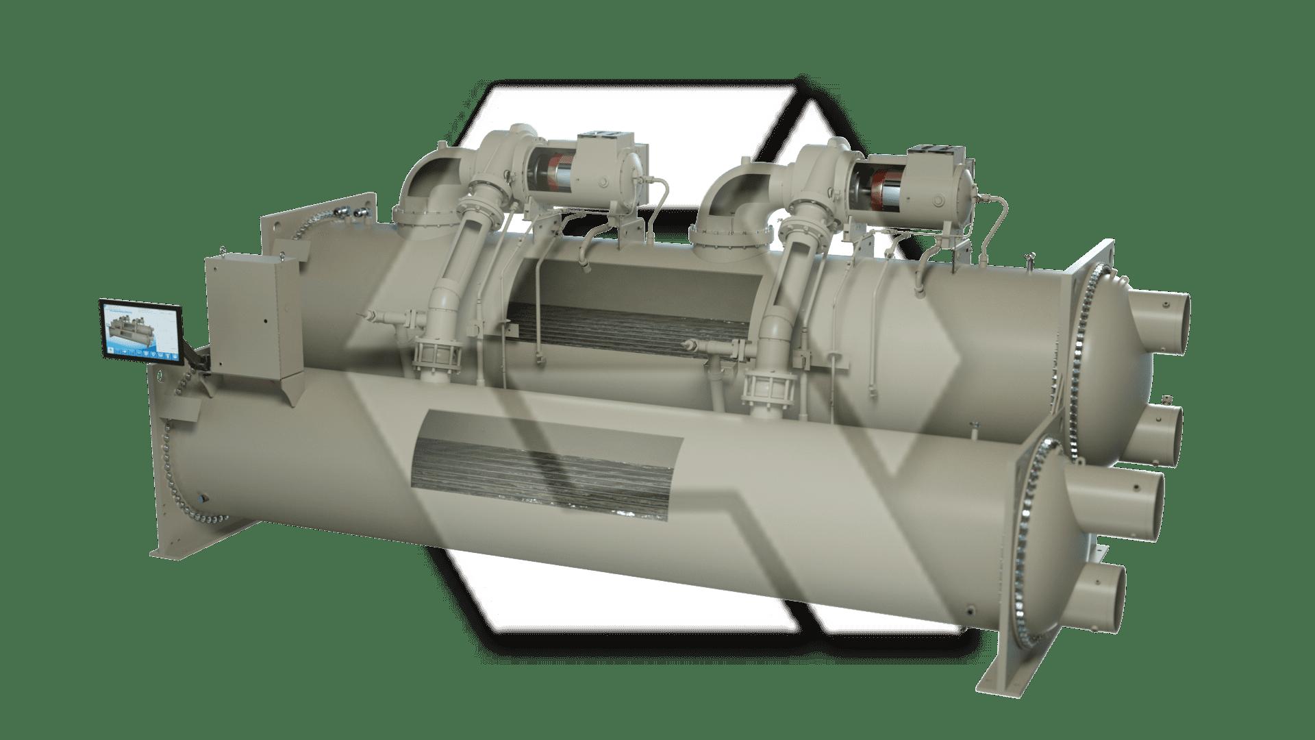 Chiller Dual Compressor Open