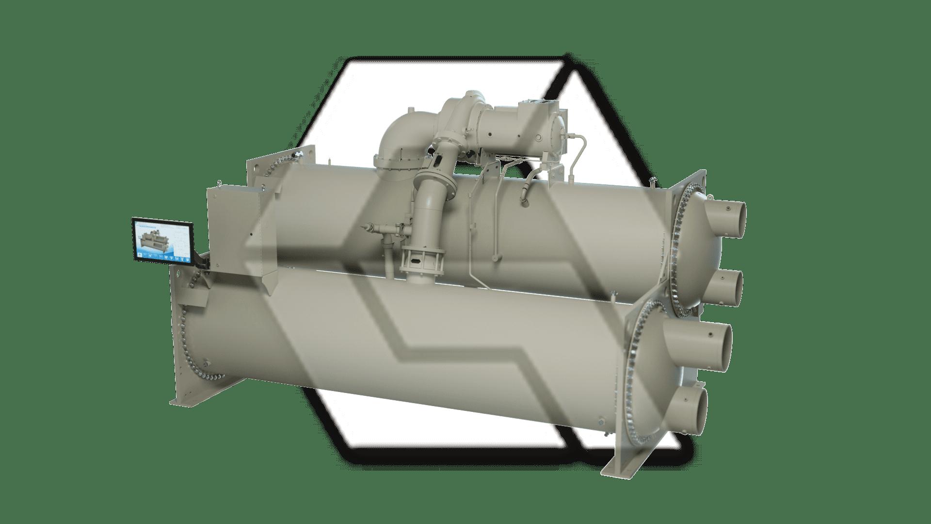 Chiller Single Compressor Closed