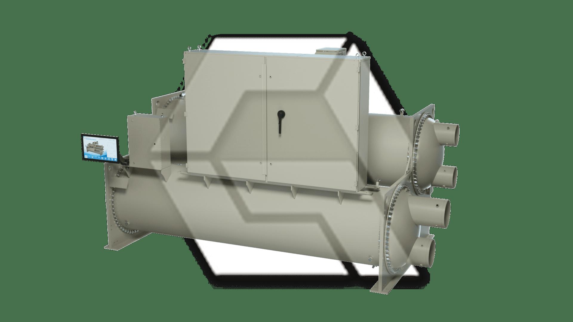 Chiller Single Compressor Closed with Box