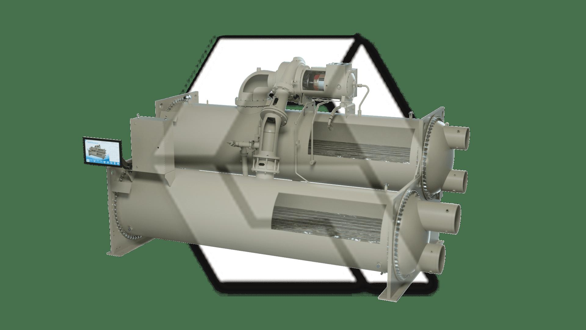 Chiller Single Compressor Open