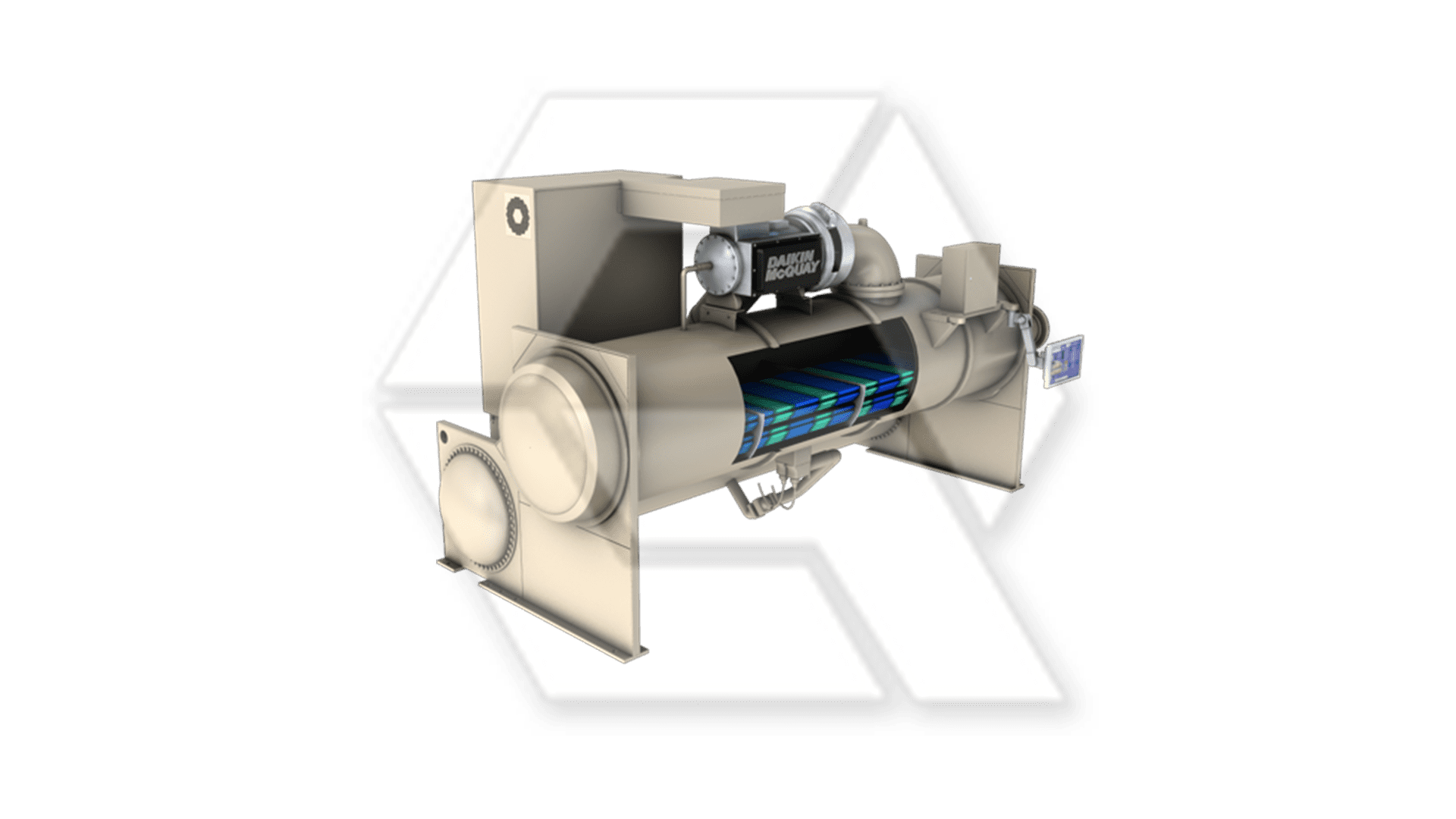 McQuay water cooled frictionless magnetic chiller Open
