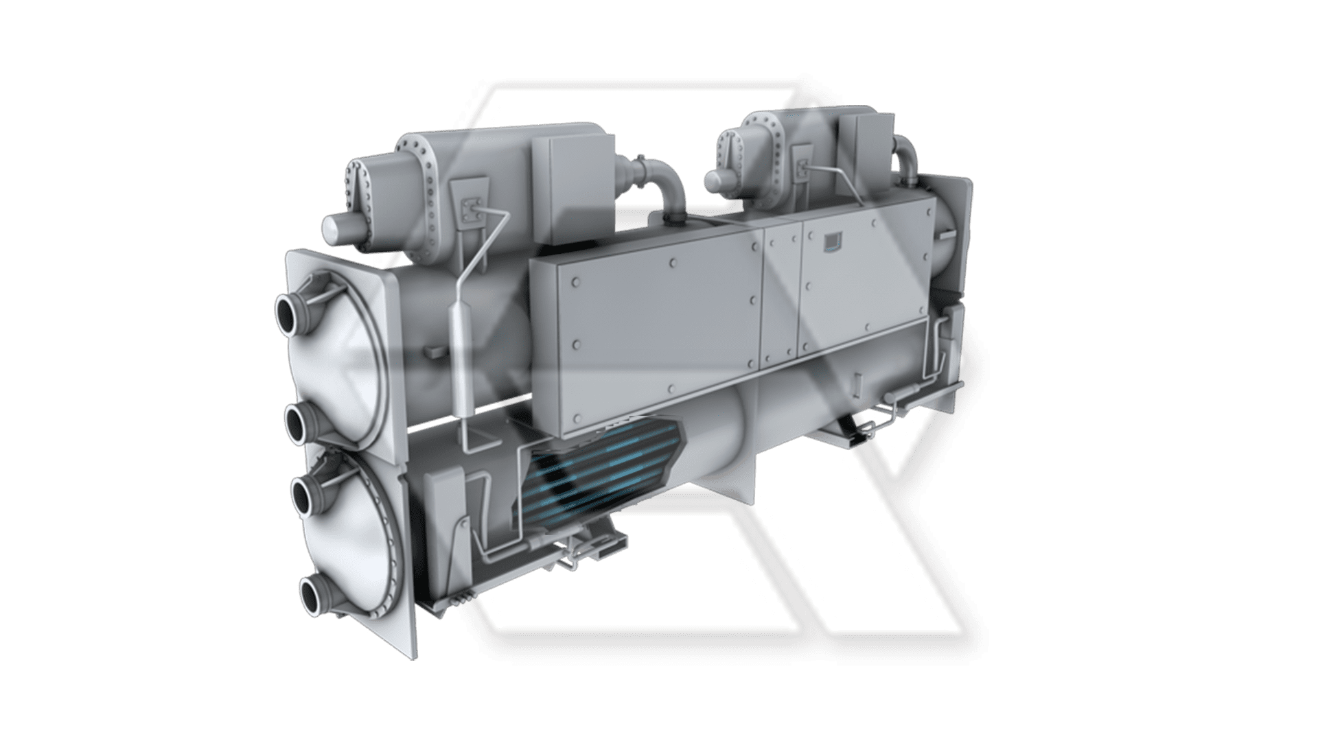 Chillers Carrier Aqua Force WC Open